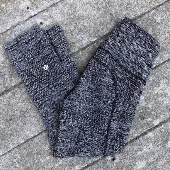 "lululemon athletica Pants - Lululemon Fast & Free Crop 19"" Alpine Grey Sz 2"
